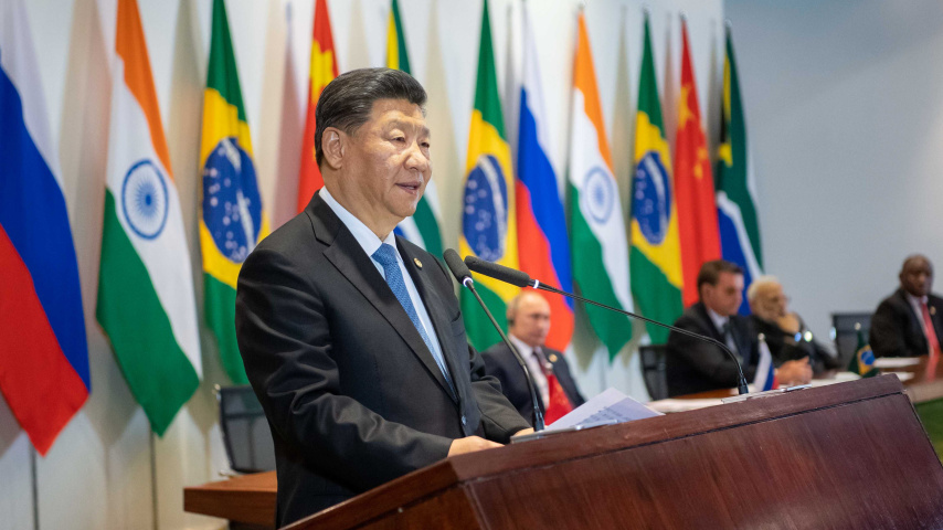 Xi Jinping -- a champion of multilateralism in a world of contradictions
